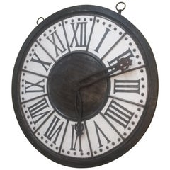 Large Wall Clock Plaque