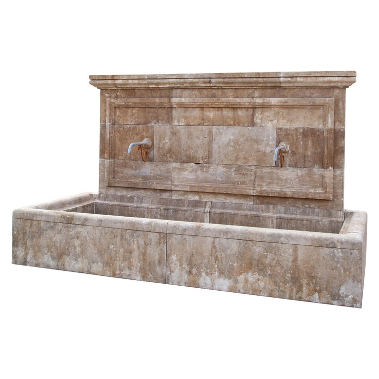 Large Wall Fountain, 21st Century For Sale