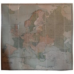 Large Wall Map of Europe by George Philip & Son, circa 1920