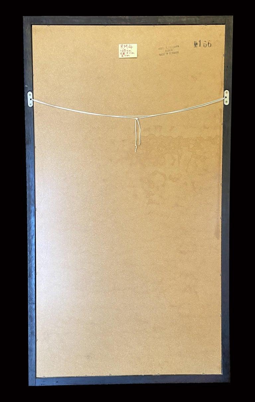 Danish Large Wall Mirror by Aksel Kjersgaard for Odder Mobler Model 116