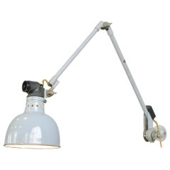 Large Wall-Mounted Task Lamp by Rademacher, circa 1930s