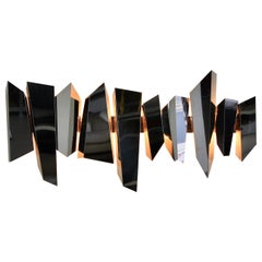 Large Wall Sconce by Mario Torregiani 'Attributed', 1980s