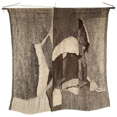 Large Wall Tapestry by Barbara Podkanska for Fabric Gobelin