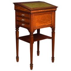 Large Walnut Clerks Desk / Lectern
