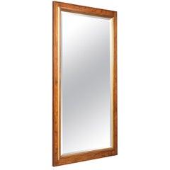 Large Walnut Wall Mirror