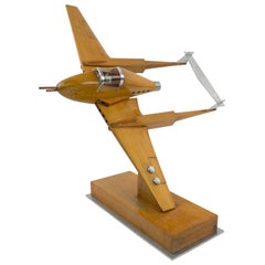 Large War Airplane Wood Model Aviation Collection
