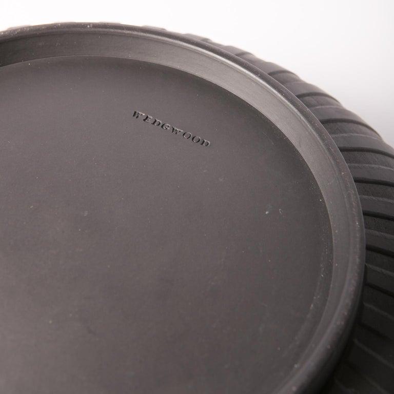 Stoneware  Large Wedgwood Black Basalt Bowl