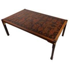 Large Wenge Coffee Table by Mogens Lassen & Rolf Middleboe