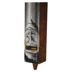 Large Whimsical Antique Wood Organ Pipe Case