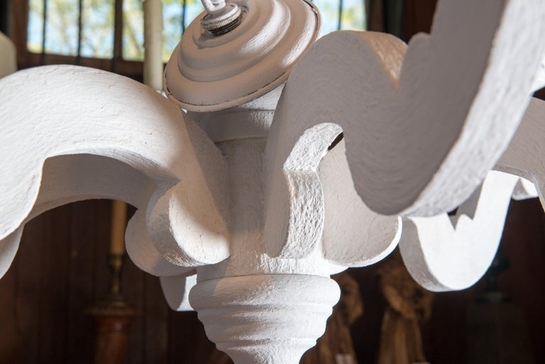 Large White Chandelier 11