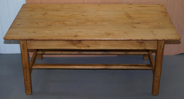 We are delighted to offer for sale this stunning vintage Refectory dining table of large proportions
