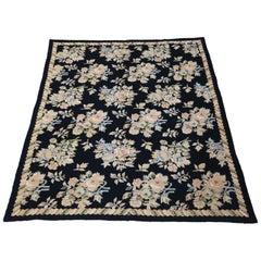Large William Morris Style Needlepoint Rug Carpet