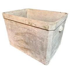 Large Willy Guhl Basin Concrete Planter