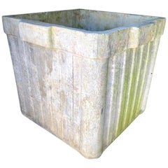 Large Willy Guhl Ridged Box Planters