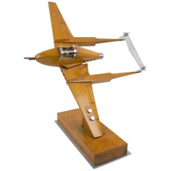 Large Wood War Airplane Model Aviation Collection