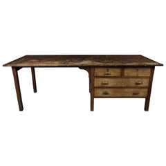 Large Work Console from France, circa 1940