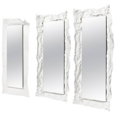 Large Wow Mirror in White by Uto Balmoral & Mogg
