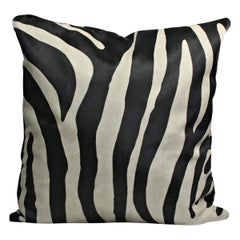 Large Zebra Print Pillow Cushion Cover
