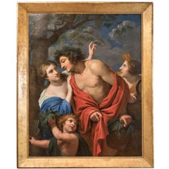 Large, 18th Century Mythological Oil Painting