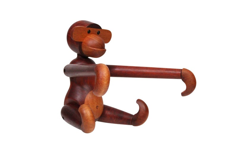 Mid-Century Modern Largest Articulated Monkey by Kay Bojesen For Sale