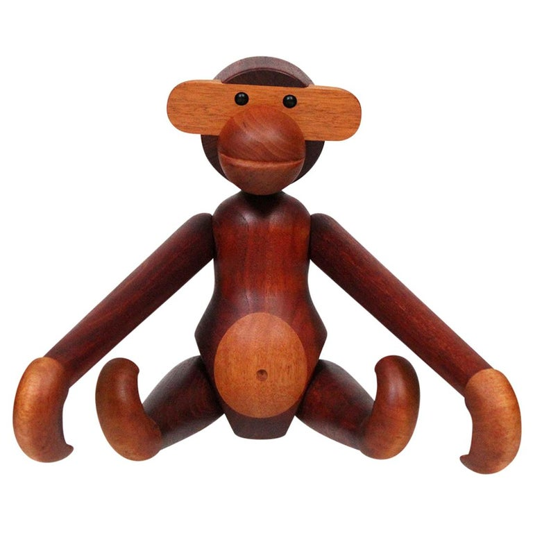 Largest Articulated Monkey by Kay Bojesen For Sale