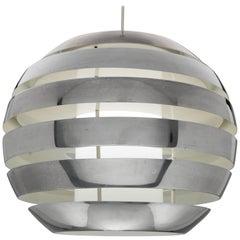 Largest Size Pendant 'Le Monde' by Carl Thore, Granhaga Metallindustri Sweden