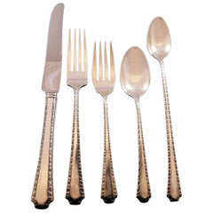 Larkspur by Wallace Sterling Silver Flatware Set for Eight Service 42 Pieces