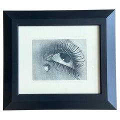 Larme de Verre, Man Ray, Period Photogravure, Studio Stamped