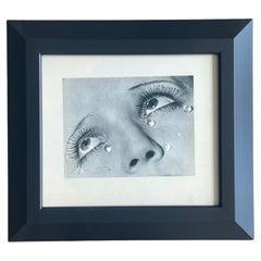 Larmes de Verre, Man Ray, Period Photogravure, Studio Stamped