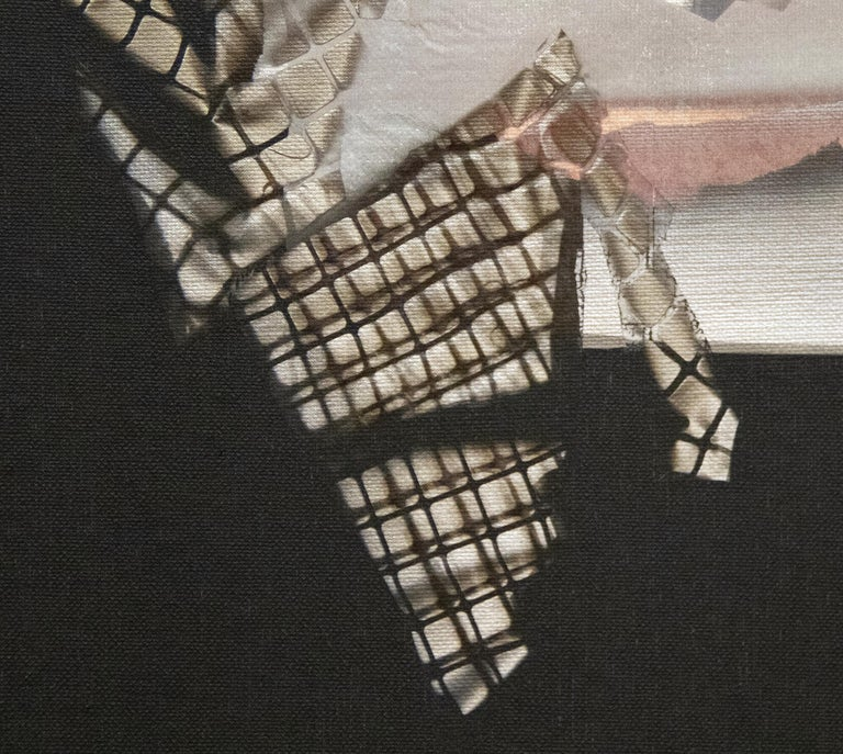 Small Mirage Study #398 - Post-War Painting by Larry Bell