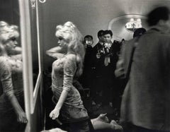 Brigitte Bardot Prepares to Meet the Press, London