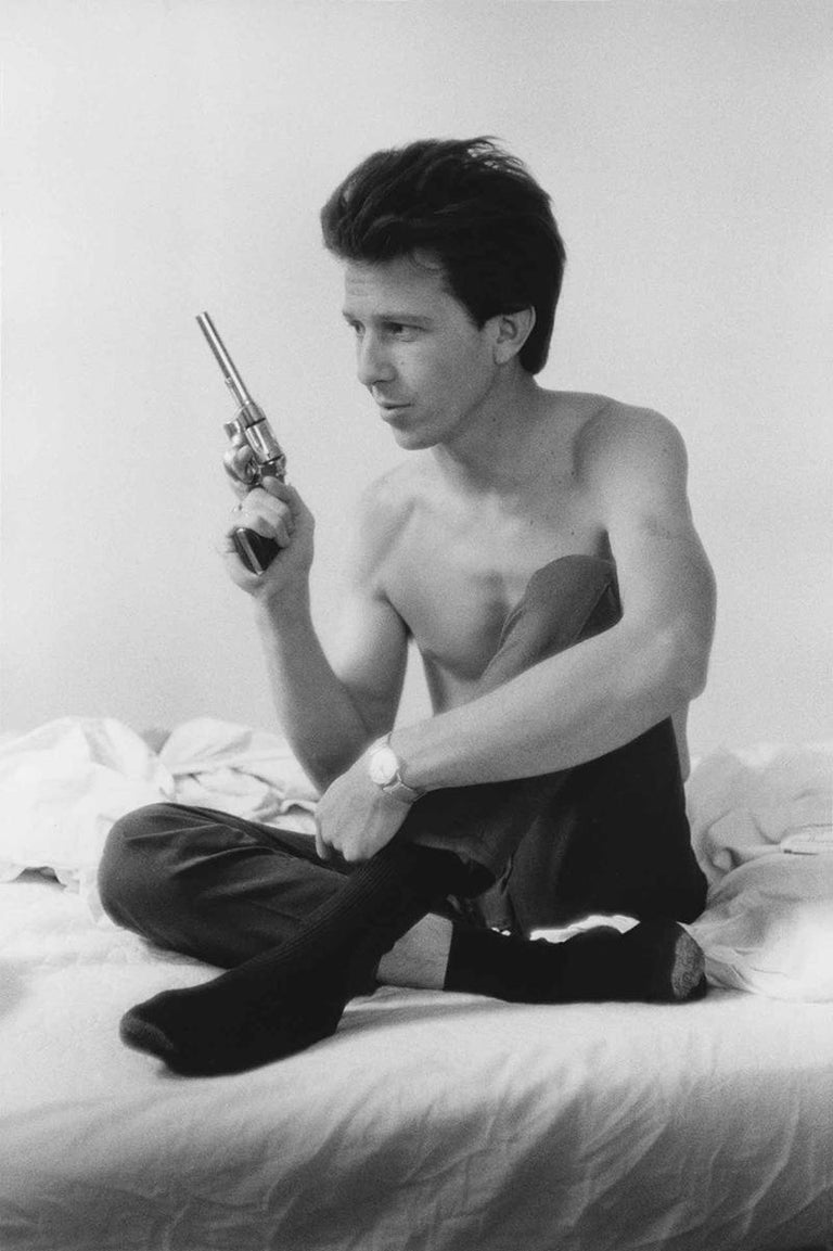 """Larry Clark Black and White Photograph - Billy Mann #2 (from the series """"Tulsa"""")"""