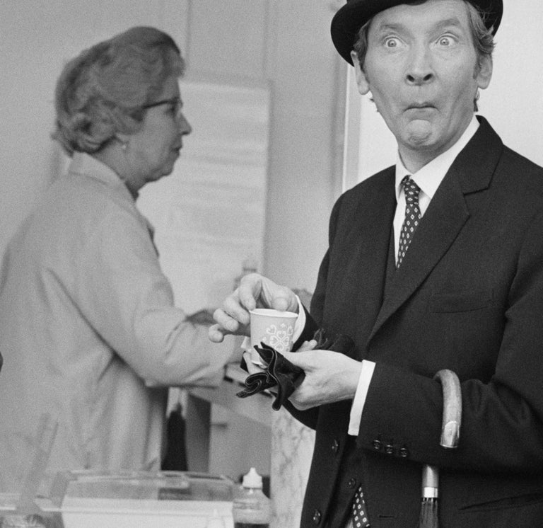 ' Carry On Tea Break ' Giant Oversize Limited Edition Silver Gelatin Print  For Sale 1