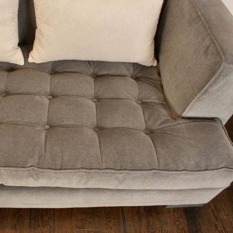 Larry Laslo Tuxedo Sofa By Directional For Sale At 1stdibs