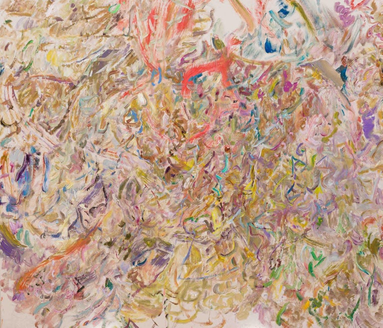 LARRY POONS Slightly Altered, 2017 Acrylic on canvas 65 x 75 5/8 inches 165.1 x 192.1 cm