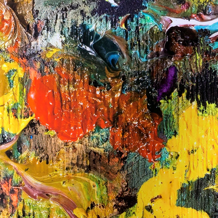 Cherry Bobalink - Abstract Print by Larry Poons