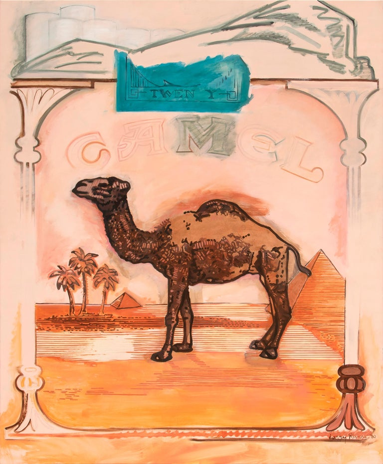 Larry Rivers Figurative Painting - Beyond Camel