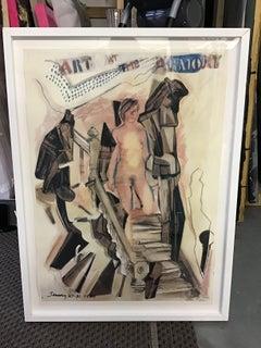 Larry Rivers Nude Prints