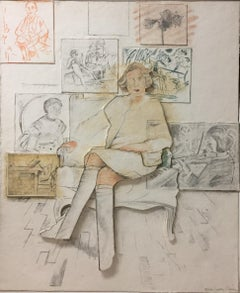 """Drawn from the Collection"" (Collage)"