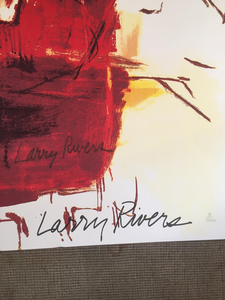 Dutch Masters (Signed) - Print by Larry Rivers