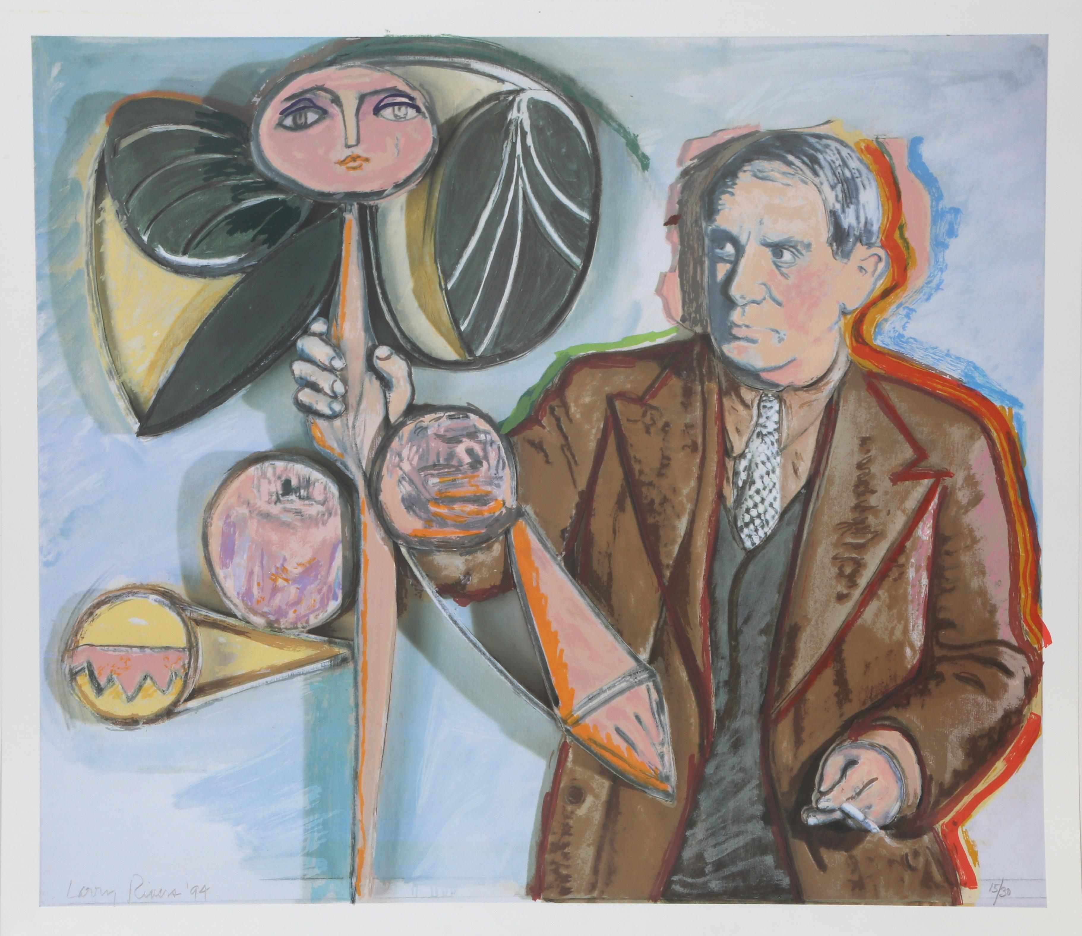 Homage to Pablo Picasso by Larry Rivers