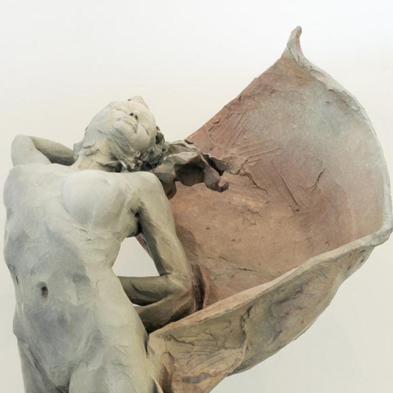 Birth of Venus - Gold Figurative Sculpture by Larry Schueckler