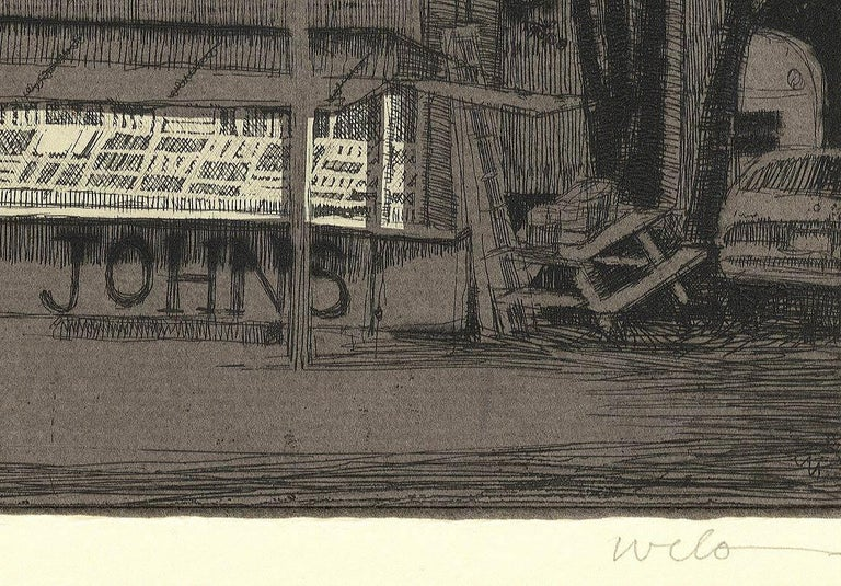 Big John's Fireworks (Get your bang from this Midwestern pop-up roadside stand) - American Modern Print by Larry Welo