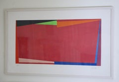 Untitled Abstract Geometric Aquatint