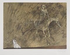 Oneiric Horserider, 1975 - Original Handsigned Etching