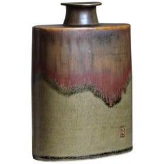 Larsdrejare, Vase / Vessel, Glazed Stoneware, Laholm, Sweden circa 1970s