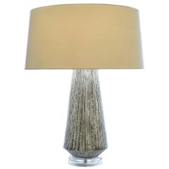 Larson Table Lamp in Natural Ceramic by Curatedkravet