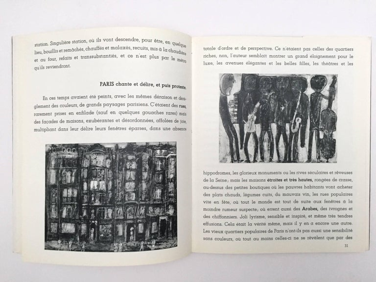 First edition, published by Pierre Matisse, New York, 1953.