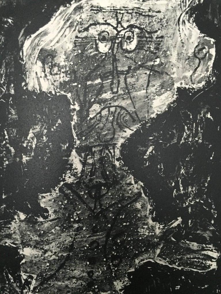 Mid-20th Century L'art Brut de Jean Dubuffet 1st Edition 1953 For Sale