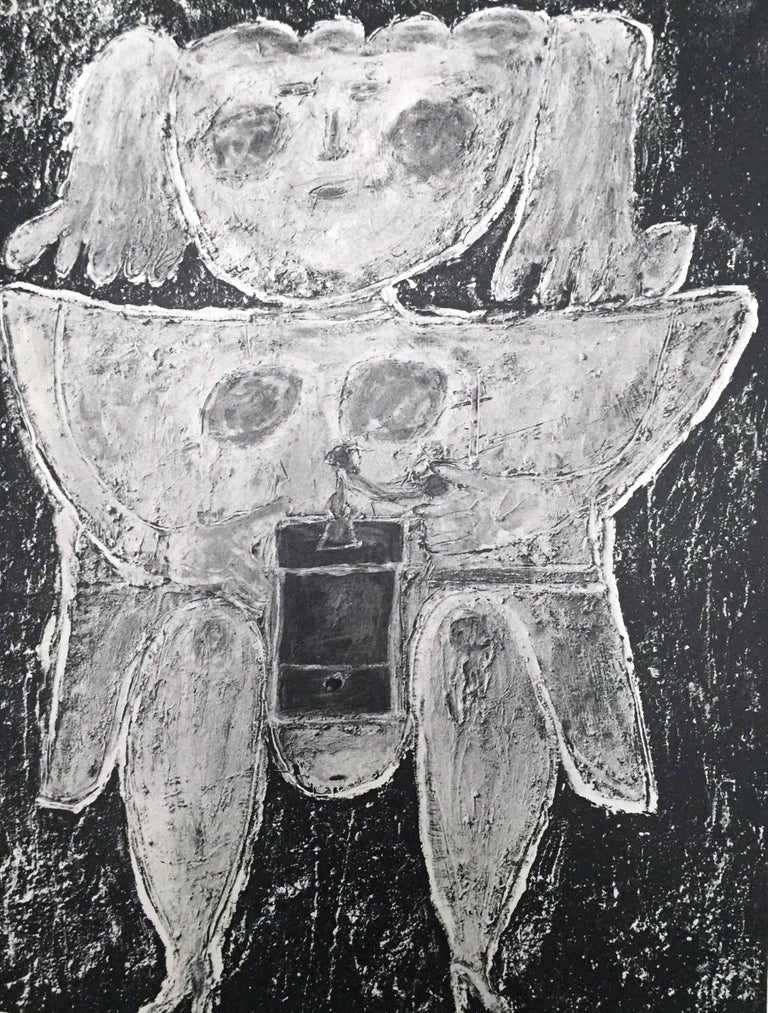 Paper L'art Brut de Jean Dubuffet 1st Edition 1953 For Sale
